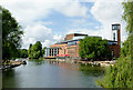 SP2054 : River Avon and the Royal Shakespeare Theatre by Roger  Kidd