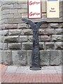 ST5972 : Millennium milepost in Straight Street by John M