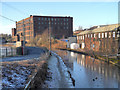 SJ9598 : Huddersfield Narrow Canal, Stalybridge by David Dixon