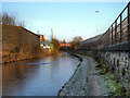 SJ9297 : Ashton Canal, Guide Bridge by David Dixon