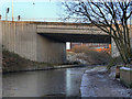 SJ9297 : Ashton Canal, A6140 Bridge by David Dixon