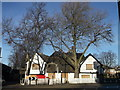 TQ4084 : The Spotted Dog Public House, Upton (2) by David Anstiss