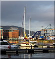 J3474 : Yacht 'Galanta' at Belfast by Rossographer