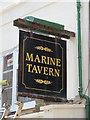 TQ3104 : Sign for the Marine Tavern, Broad Street, BN2 by Mike Quinn