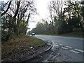SK5976 : Bus stops on Ollerton Road near Clumber Park by SMJ