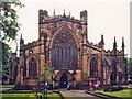 SJ6552 : St Mary, Nantwich by John Salmon