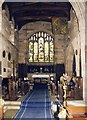SJ7652 : St Bertoline, Barthomley - Chancel by John Salmon