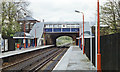 TQ2483 : Brondesbury Park station, 1990 by Ben Brooksbank