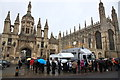 TL4458 : Queuing for Nine Lessons and Carols, King's College by Rob Noble