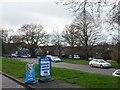 SZ0796 : Northbourne: upside-down headline in Gillam Road by Chris Downer