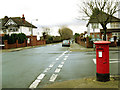 TQ4076 : Postbox on Eastbrook Road by Stephen Craven