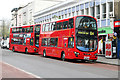 Dist:0.2km<br/>Operator Metroline has taken delivery of a number of new Wright bodied Volvo vehicles throughout 2012 and has converted the 134 route to the type.   The route runs between North Finchley and Tottenham Court Road.