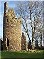 TG2705 : Fallen masonry near St Mary's Tower : Week 52(part1)