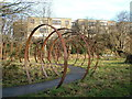 SE2023 : Sculpture off Sustrans Route 66 by John Goldsmith