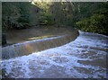 ST6276 : Heavy rain makes for a fast flow by Neil Owen