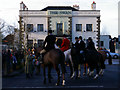 SJ7242 : Boxing Day at the Swan, Woore by Terry Hughes