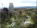 SJ2345 : Ruabon Mountain South Trig Point by Douglas Law