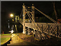 SJ4165 : Floodlit Queen's Park Bridge, Handbridge : Week 52(part1)