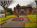 SD8103 : War Memorial, St Mary's Road/Rectory Lane by David Dixon