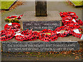 SD8103 : Prestwich War Memorial Dedication by David Dixon