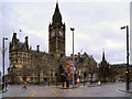 SJ8398 : Manchester Albert Square and Town Hall by David Dixon