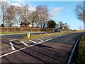 SO6001 : SW end of a short dual carriageway, Alvington by John Grayson