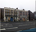 TQ2978 : Boarded up buildings in Grosvenor Road, Pimlico by PAUL FARMER