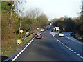 SU4931 : Winchester Bypass, A34/A33 Junction by David Dixon