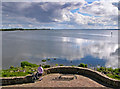 H9889 : Lough Neagh at Toome by Robert Ashby