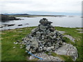 NR3493 : Isle of Colonsay: cairn atop D&ugrave;n Ghallain by Chris Downer