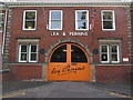 SO8554 : Entrance of Lea & Perrins Factory, Midland Road, Worcester by Colin Park