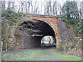 SK5164 : Bridge of former railway line by Peter Barr