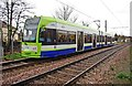 TQ3066 : London Tramlink Bombardier tram no. 2536 near Therapia Lane tram stop, Croydon by P L Chadwick