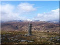 NN2328 : Summit area of Beinn na Sròine by Trevor Littlewood