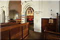 TQ2486 : All Saints, Church Walk - Interior by John Salmon