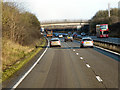 SU4875 : Northbound A34, Farm Access Bridge (Down Farm) by David Dixon