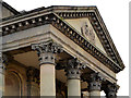 J3474 : Portico, St George's church, Belfast by Albert Bridge