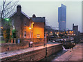 SJ8397 : Rochdale Canal, The Duke's Lock by David Dixon