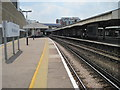 TQ2470 : Wimbledon railway station, London by Nigel Thompson