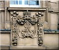 SJ8990 : George V Crown Post Office detail by Gerald England