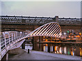 SJ8397 : The Merchant's Bridge at Castlefield by David Dixon
