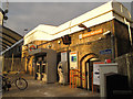 TQ2975 : Clapham High Street station entrance by Stephen Craven