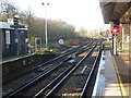 TQ2275 : View from Barnes station by Ian Yarham