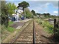 SW5437 : Lelant railway station, Cornwall by Nigel Thompson
