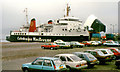 NS2242 : The &quot;Isle of Arran&quot; at Ardrossan (2) by Albert Bridge