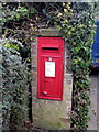 TL0630 : George V postbox by Philip Jeffrey