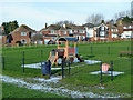TR2436 : Play area, Folkestone by Robin Webster