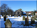 SE8490 : Graveyard of St. Giles Church, Lockton by Trevor Littlewood