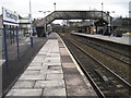 ST8557 : Trowbridge railway station, Wiltshire by Nigel Thompson