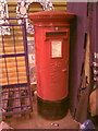 TM5396 : Tesco Foxburrow Hill Postbox by Adrian Cable